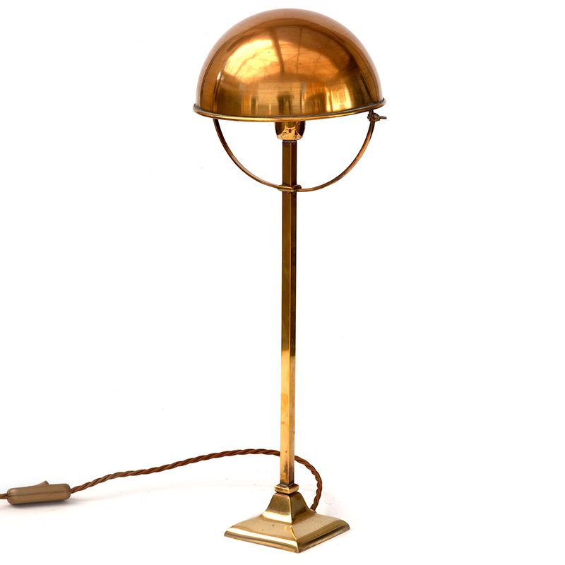 French brass Art Deco table lamp c.1930.