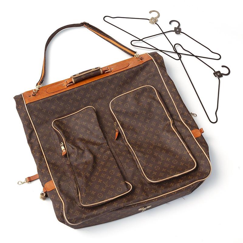 Vintage Louis Vuitton Coated Canvas Suit Carrier