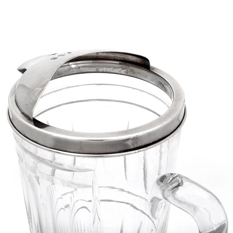 Chunky Tiffany Sterling Silver Water Jug
