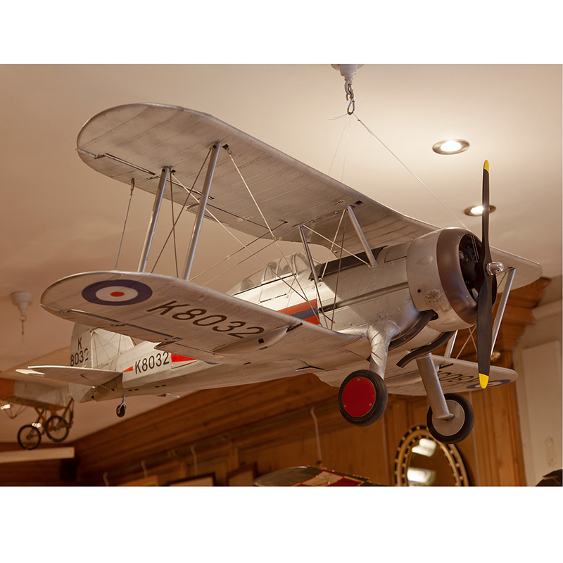 Impressive Gloster Gladiator Retired Flying Model