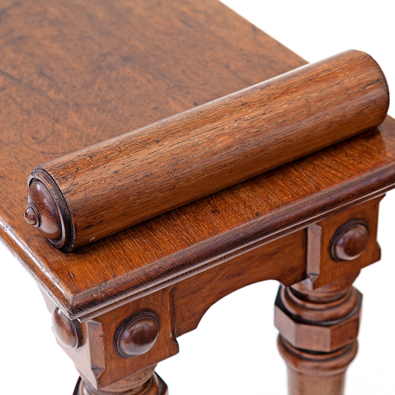 Extra Large Antique Oak Hall Bench