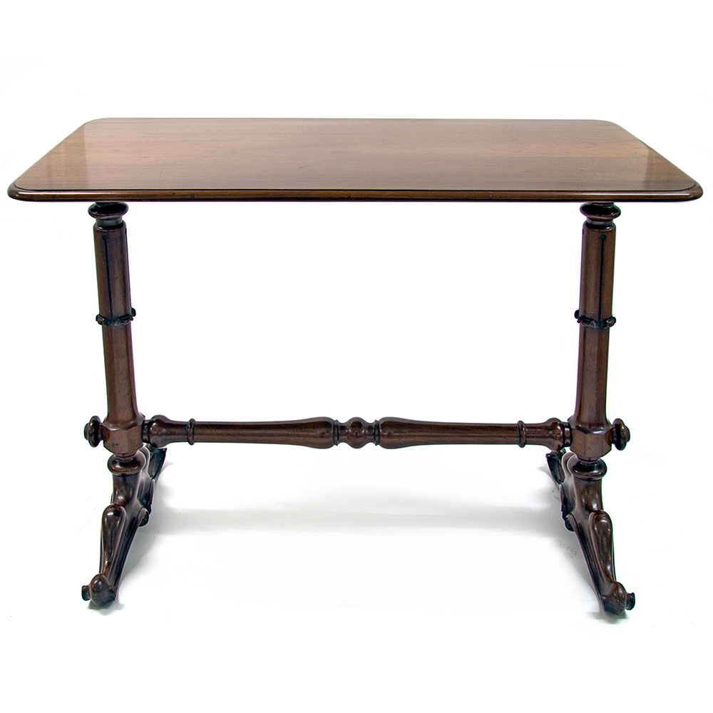 William IV Mahogany Stretcher Table