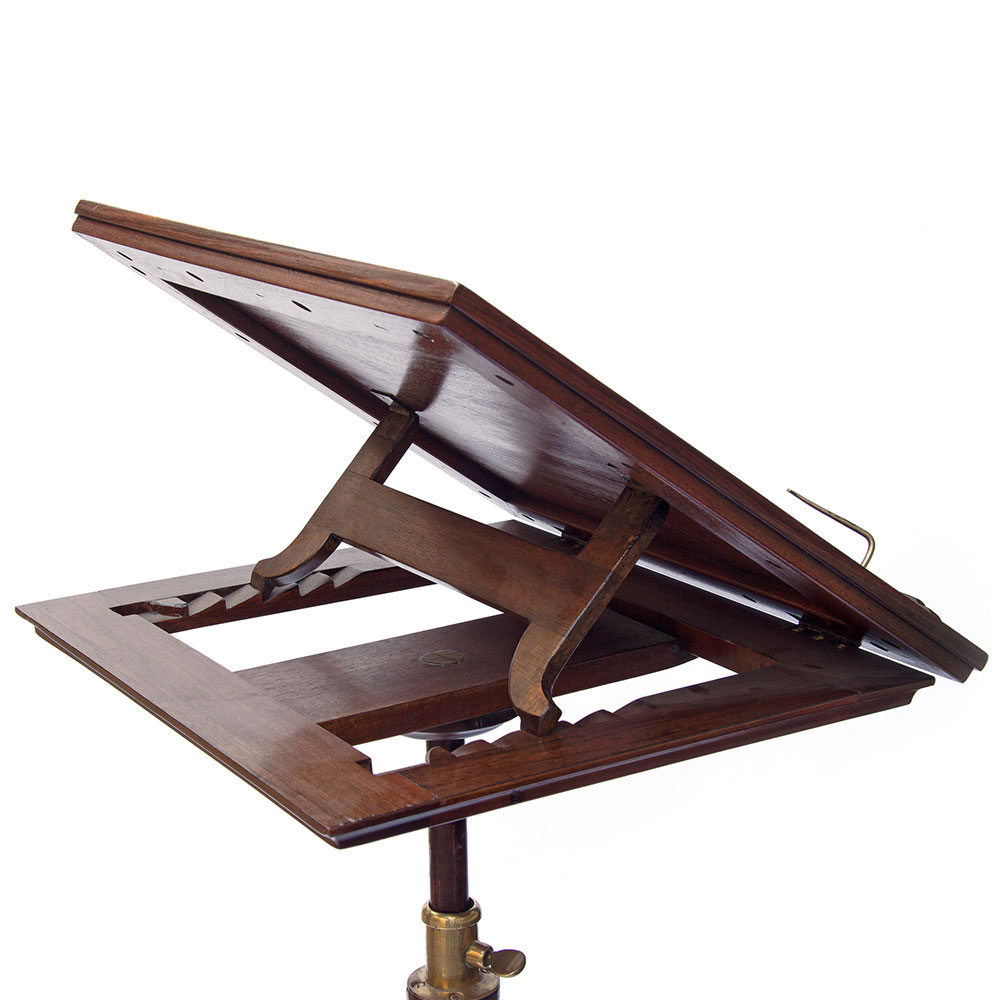 Antique William IV Rosewood Adjustable Reading or Music Stand